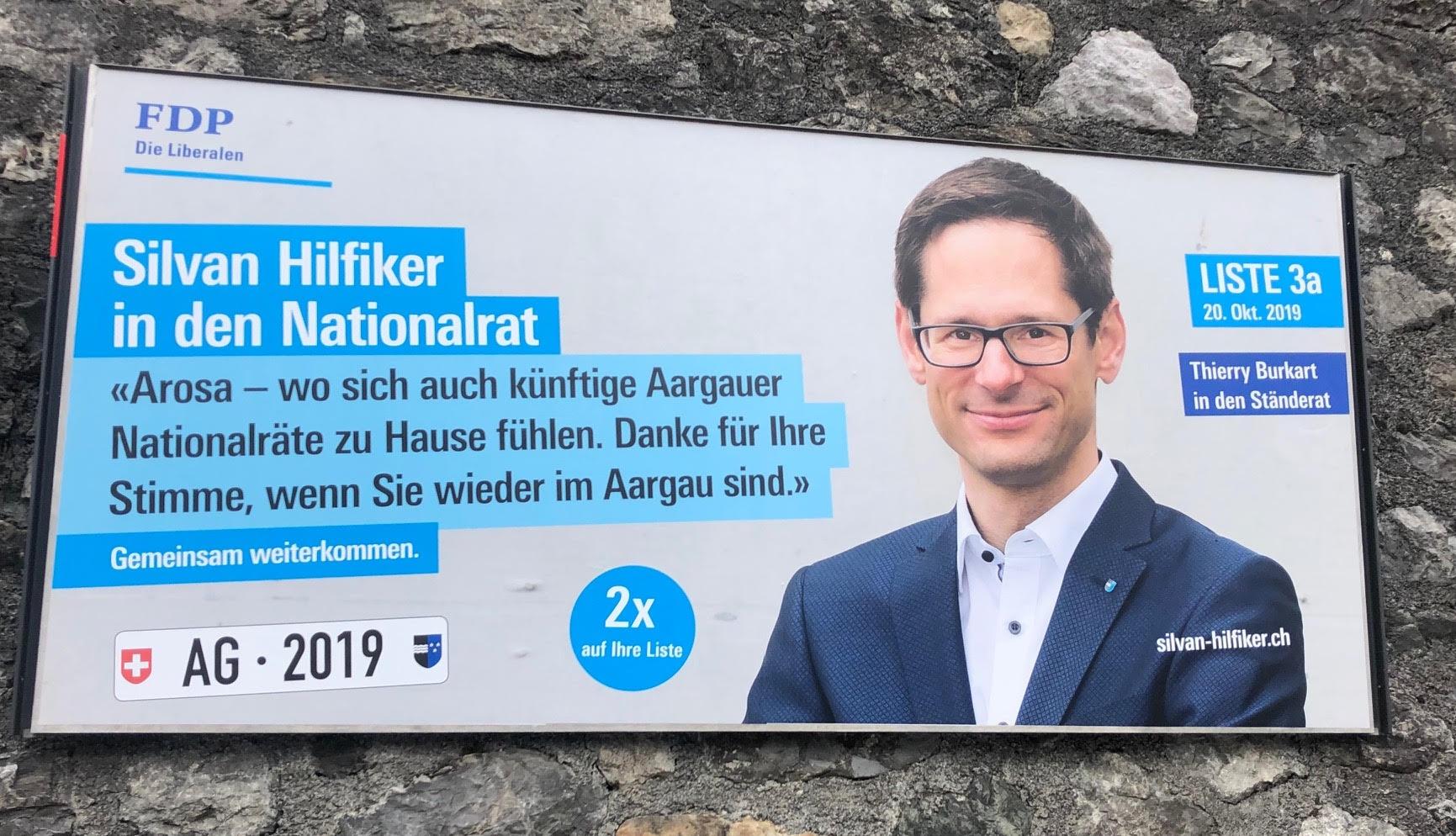Vom Aargau via Arosa nach Bern?